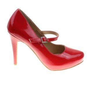 ee42ed9bdb68 RSVP Shoes - Mary Jane Red Valentines Heels